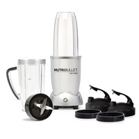 NutriBullet Smoothie Maker 9pc Set, Silver, 1200W, N12-0912