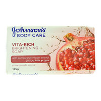 Johnson'S Vita-Rich Brightening Soap With Pomegranate Flower Extract 125ml