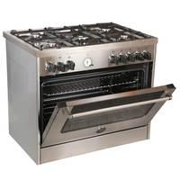 Bertazzoni 90x60 cm Full Gas Cooker MAS905GGVLXC