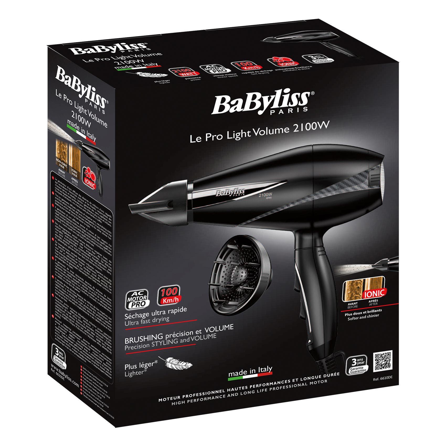 BABYLISS HAIR DRYER 6610 DSDE