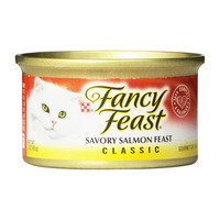 Purina Fancy Feast Classic Savory Salmon Feast 85g x6