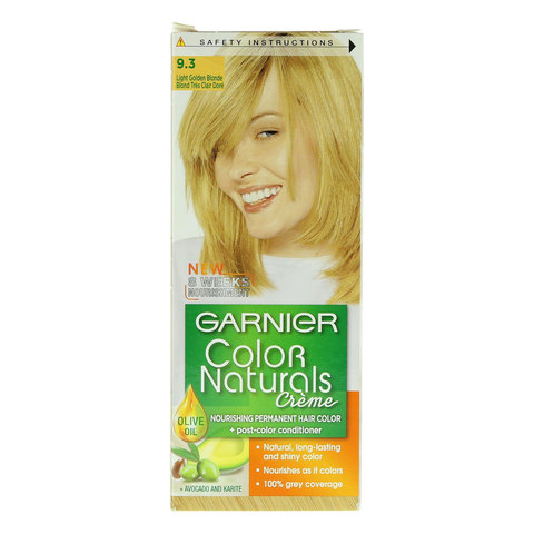 Garnier-9.3-Light-Golden-Blonde-Color-Naturals-Creme