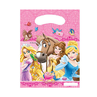 Disney Party Bag Princess & Animals 6 Pieces