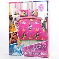 Princess Quilt Cover 3pc Set