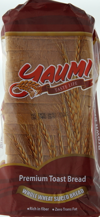 Yaumi Whole Wheat Sliced Bread 600g