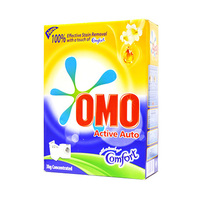 Omo Active Auto Fabric Cleaning Powder 3KG +Comfort Pink 1L Free