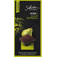 Carrefour Selection Gourmet Dark Pear Chocolate 100g