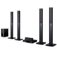 LG Home Theater System LHD657 5.1 Channel With Tall Boy Speaker