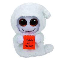 """TY Beanie Boos Ghost Mist White Med 9.5"""""""