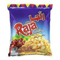 Raja Salt & Vinegar Potato Crunchies 15g