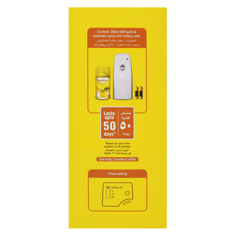 Carrefour-Air-Freshener-Automatic-Spray-Lemon-Dispenser--250ml-