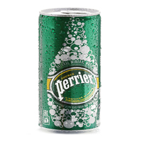 Perrier Natural Sparkling Mineral Water Can 250ml