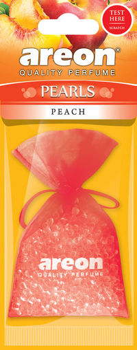 Areon Air Freshener Cardboard Peach Pearls