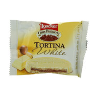 Loacker Tortina White Chocolate 21g