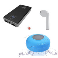 Xcell Power Bank 10000mAh + Bluetooth 545 + Speaker SP100