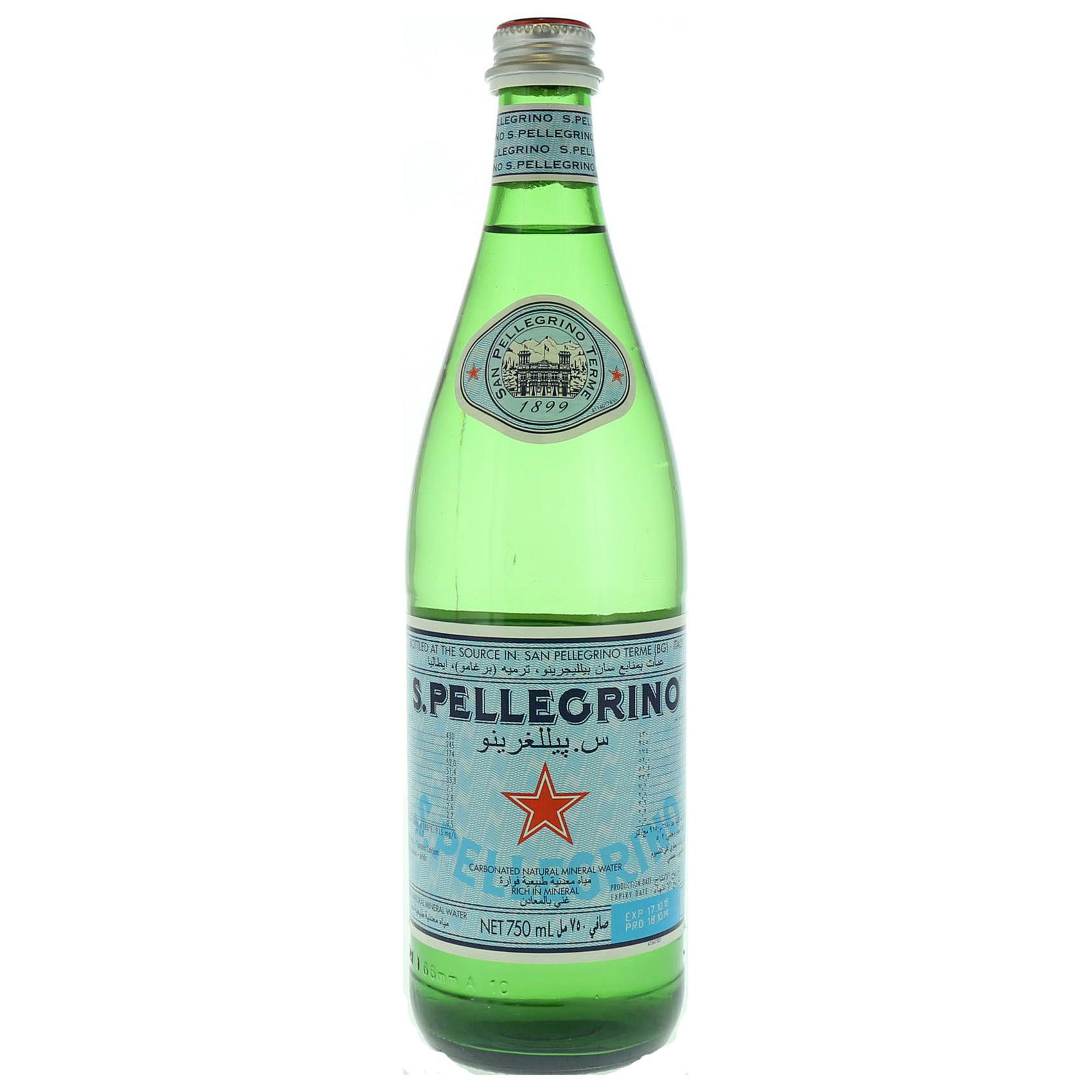 SAN PELLIGRINO SPARKLING WATER750GR