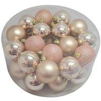 Balls Set 32 Pcs 6Cm Bronze