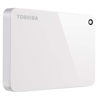 Toshiba Hard Disk Drive 2TB Canvio Advance White
