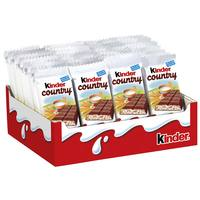 Kinder Chocolate with Cereals 23g x40