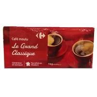 كارفور قهوة مولو جراند كلاسيك 250 غرام 4 حبات