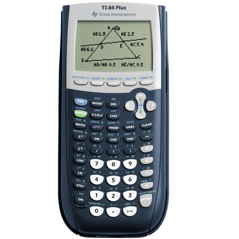 Texas-Instruments-Graphic-Calculator-Ti-84-Plus