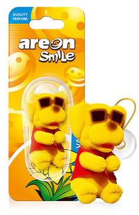 Areon Air Freshener Smile Yellow Dog Vanilla