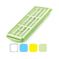 Dunya Long Ice Tray With Lid 16007