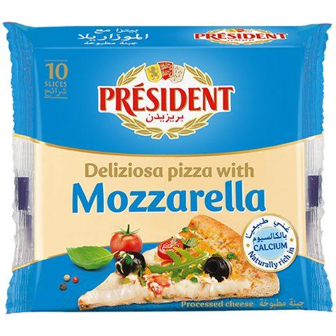 President-Special-Pizza-Mozzarella-Slice-Cheese-200g
