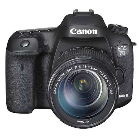 Canon-SLR-EOS-7D-Mark-II-18-135MM-+-8GB-Card-+-Case-+-Learning-CD