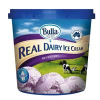 Bulla Real Dairy Ice Cream Blueberry 1L