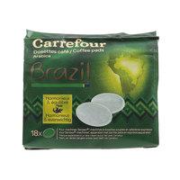 كارفور كبسولات قهوة برازيلية عربية 7 غرام 18 حبة