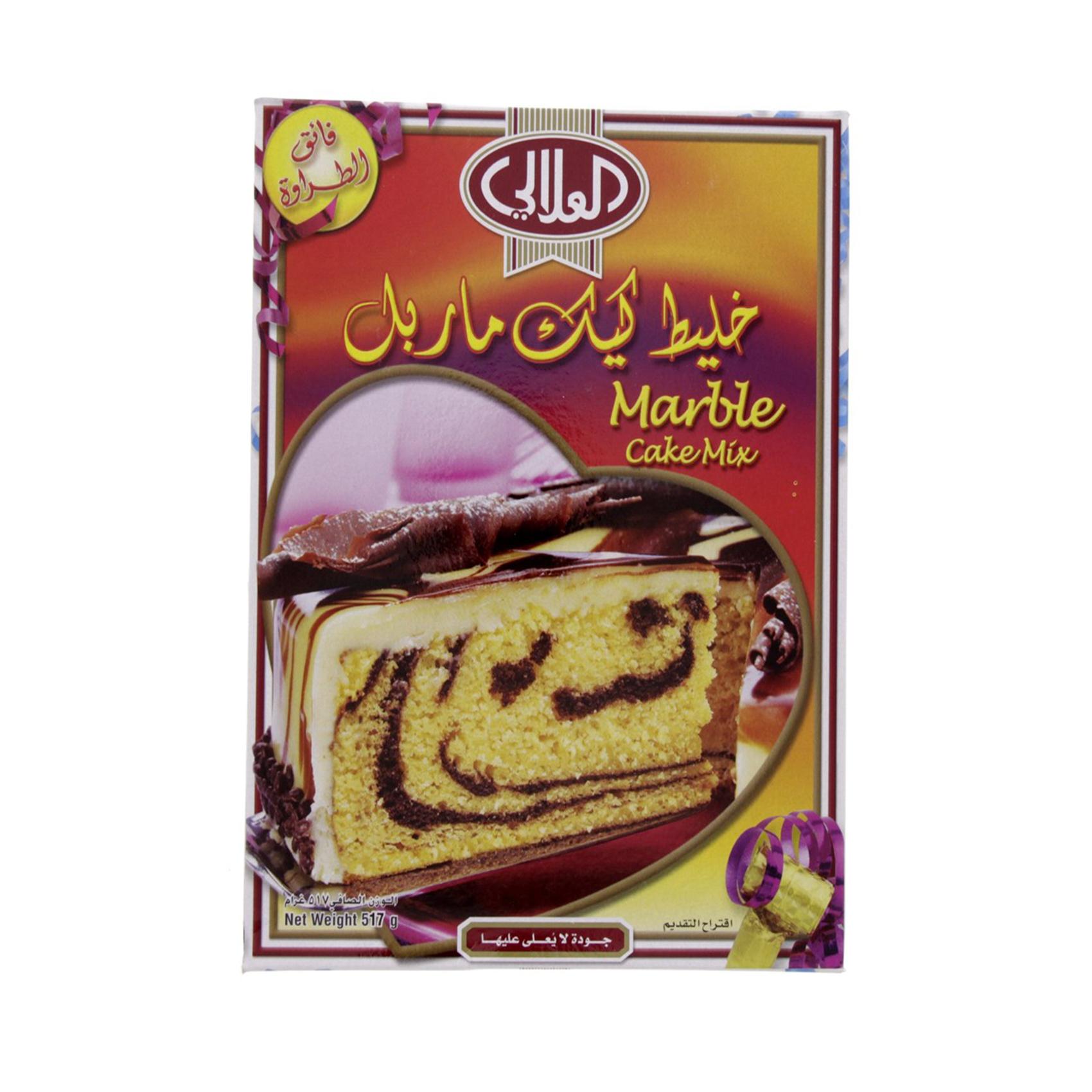 AL ALALI CAKE MIX MARBLE 517GR