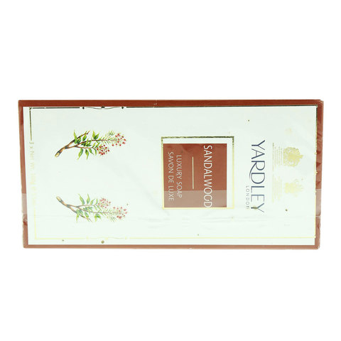 Yardley-Sandalwood-Luxury-Soap-100gx3