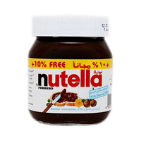Nutella Chocolate Jars 385GR 10% Free