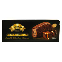 London Dairy Black Edition Double Chocolate Brownie Ice Cream 100ml