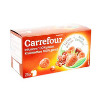 Carrefour Infusion Fruit Rouge 25 Sachets 40GR
