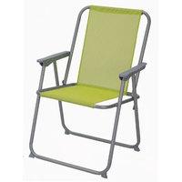 Textiline Beach Chair Green 53.5x54.5x76 cm