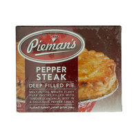 Pieman's Pepper Steak Deep Filled Pie 185g