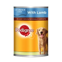 PEDIGREE® Lamb Wet Dog Food Can 400g