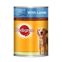 PEDIGREE® Lamb Wet Dog Food Can 400g