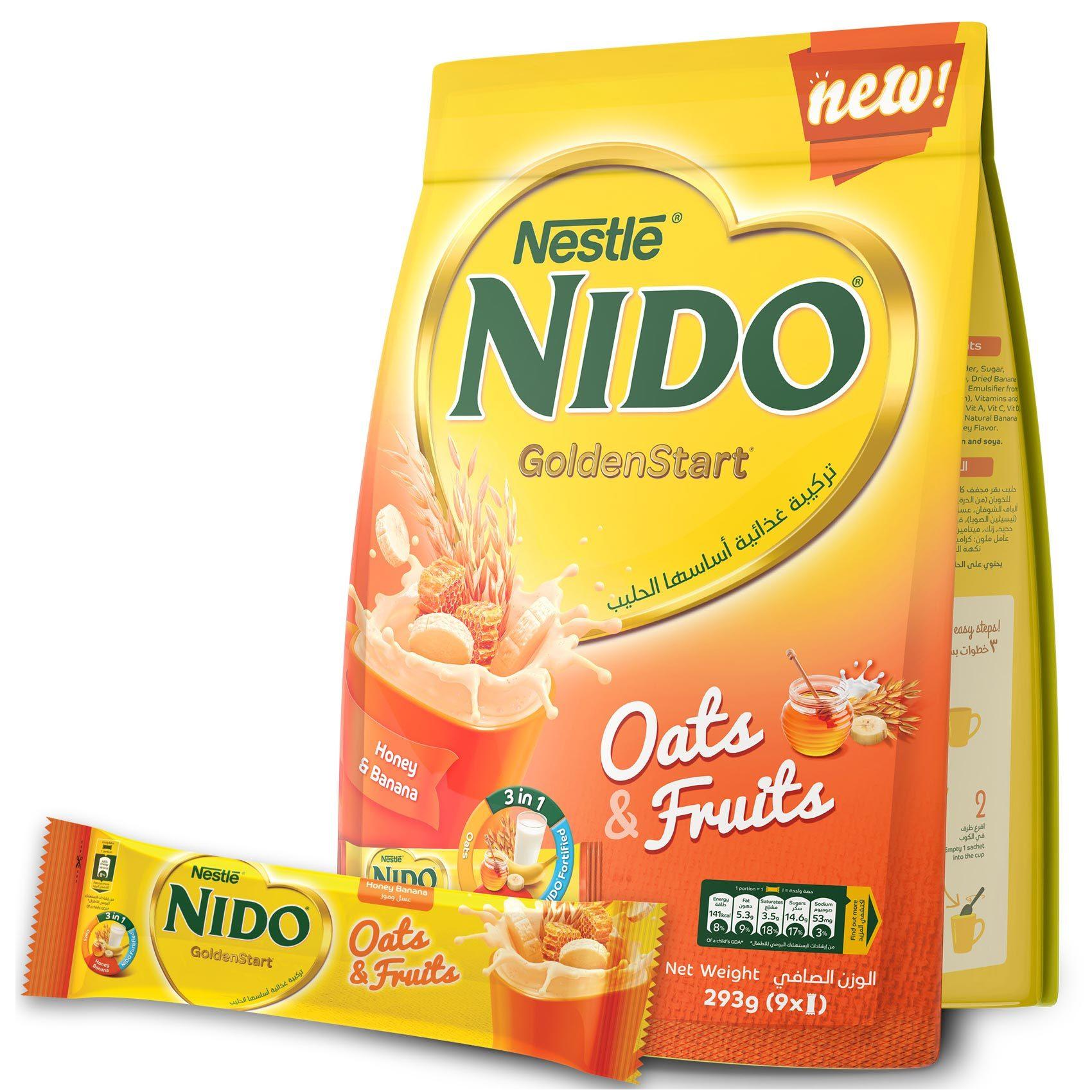 NIDO GOLDENSTART HONEY POUCH 293G
