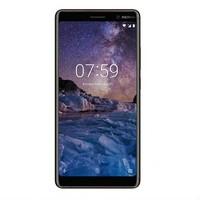 Nokia 7 Plus Dual SIM, 64GB, 4GB RAM, 4G LTE - Black