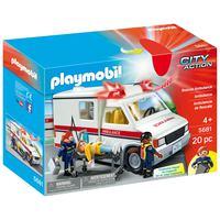 Playmobil- Rescue Ambulance Playset