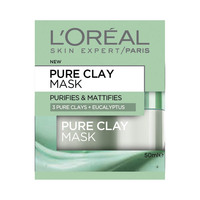 L'Oreal Paris Pure Clay Green Mask with Eucalyptus 50ML 10% Off