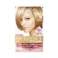 L'Oreal Paris  Excellence Colour Cream Light Blonde No 8 -10% Off