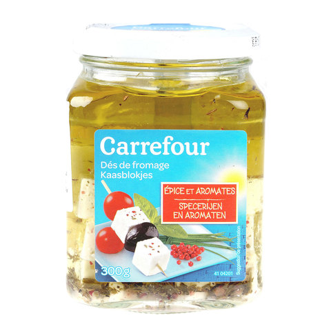Carrefour-Feta-In-Oil-300G