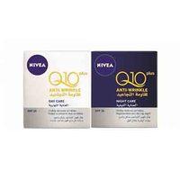 Nivea Face Q10+ Anti-Wrinkle Day Creme 50ML + Night Creme 50ML