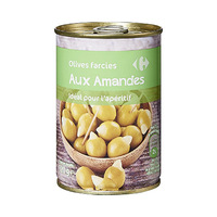 Carrefour Stuffed Olives Amande 120GR