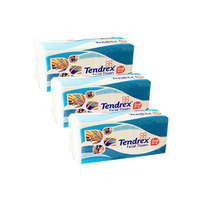 Tendrex Facial Tissues 200 Sheets X3