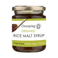 ClearSpring Organic Rice Malt Syrup 330GR